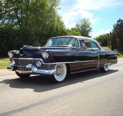 cadillac lasalle club photo gallery 1950 to 1959 1954 6237dx coupe de ville. Black Bedroom Furniture Sets. Home Design Ideas
