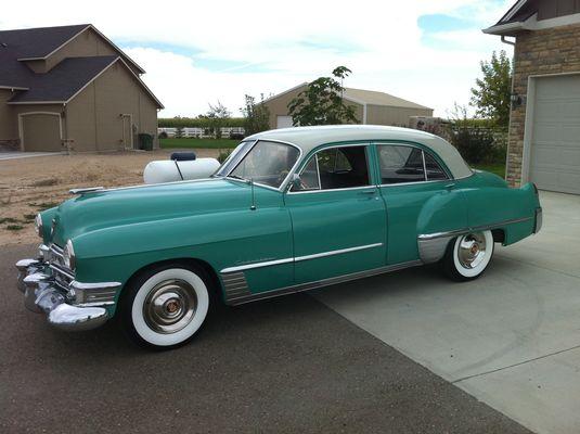 Cadillac lasalle club photo gallery 1940 to 1949 1949 for 1949 cadillac 4 door sedan